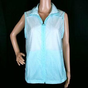 Nike Golf Women Vest Full Zip Light Dri Fit XL